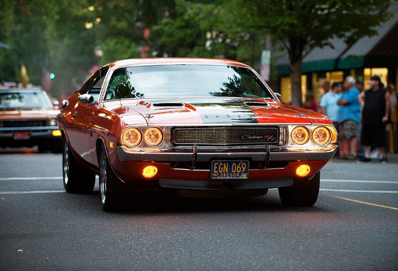 1970 Challenger Draggin the Gut in 2013