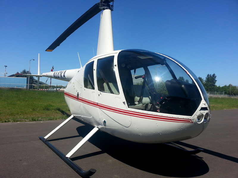 Our new Robinson R44
