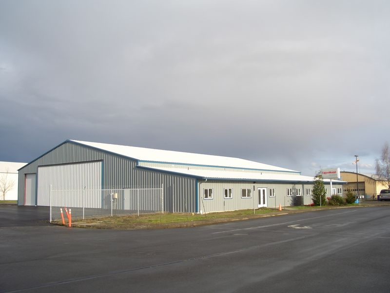 Hangar outside