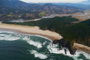 newport oregon coast helicopter tour